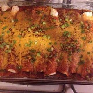 Beef Enchiladas I.