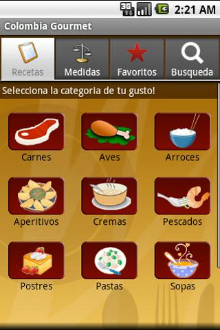 Colombia Gourmet Free- screenshot