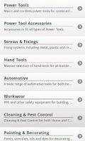 Screenshot of Toolstation Mobile