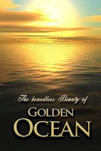live wallpaper GOLDEN OCEAN