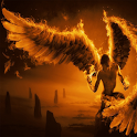 Flame Angel Live Wallpaper icon