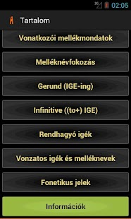 Angol nyelvtan- screenshot thumbnail