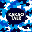 Blue Military Look Kakao Theme