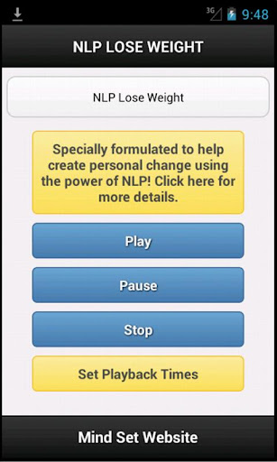 nlp weight loss app
