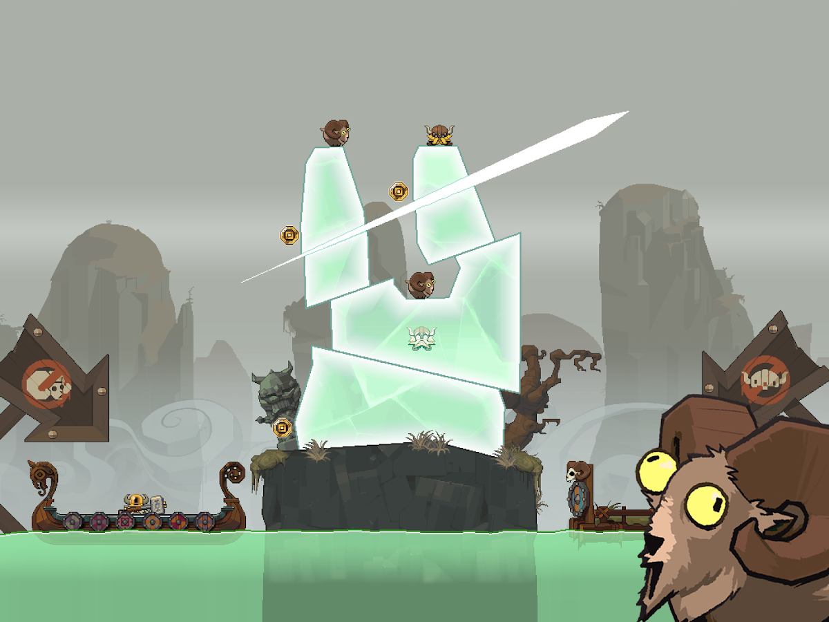 Icebreaker: A Viking Voyage - screenshot
