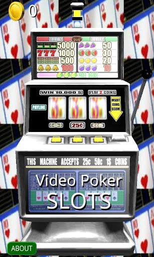 3D Video Poker Slots - Free