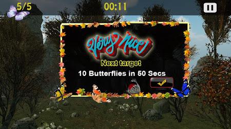 Butterflies Catch Craze 3D 1.0 screenshot 6208