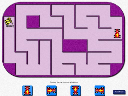 Kids Car Mazes - Level 2