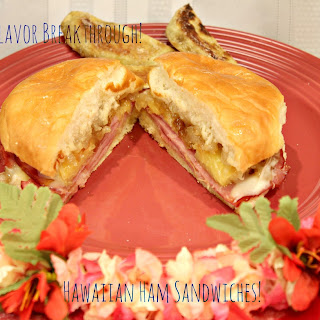 Hawaiian Ham Sandwiches!