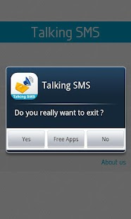 Talking SMS - screenshot thumbnail