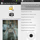 Range Results Tracking icon