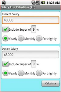 Aussie Salary Rise Calculator screenshot 0