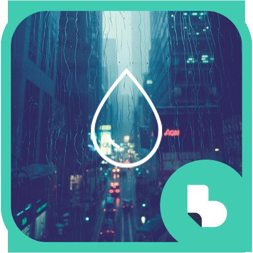 비오는 도시 버즈런처 테마 (홈팩)