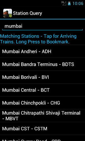 Indian Train Status 6.85 screenshot 107408