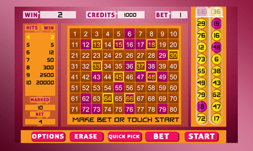 Keno Bingo - screenshot thumbnail