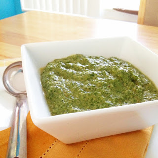 Spiced Creamy Spinach (Palak Paneer without the Paneer)