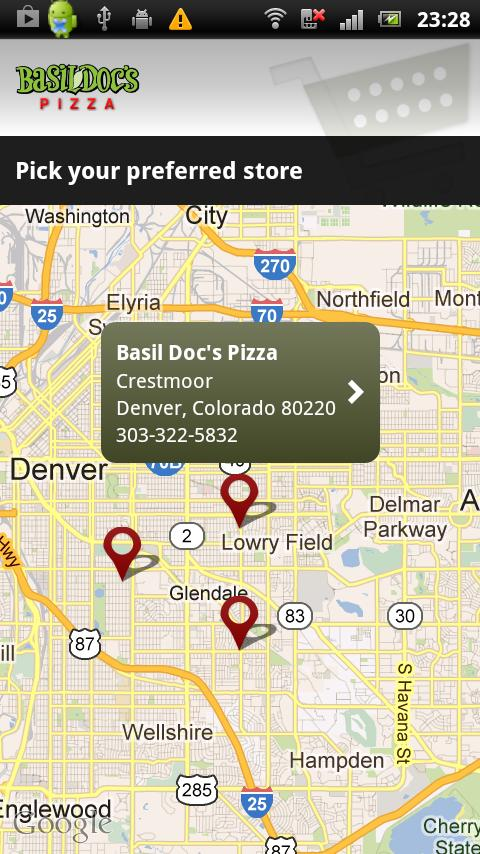 Basil Doc's Pizza - screenshot