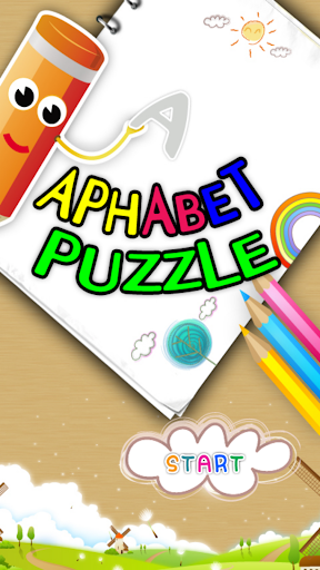 Alphabet puzzle game for kids