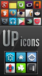 UP icons - screenshot thumbnail