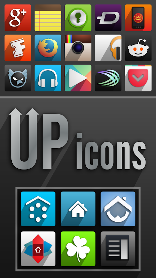 UP icons- screenshot