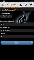 Screenshot of E-Okul Öğrenci - VELİ