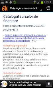 Fonduri Europene - screenshot thumbnail
