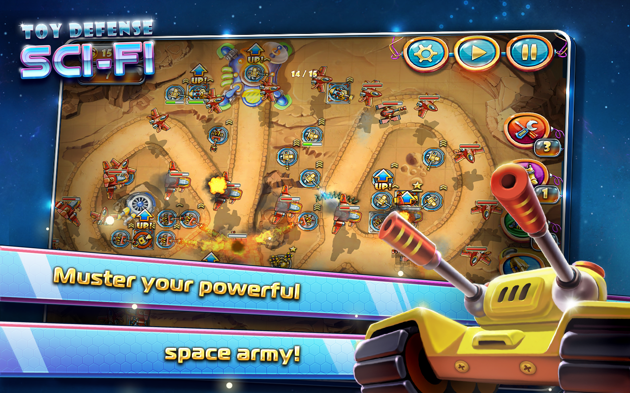 Toy Defense 4: Sci-Fi - screenshot
