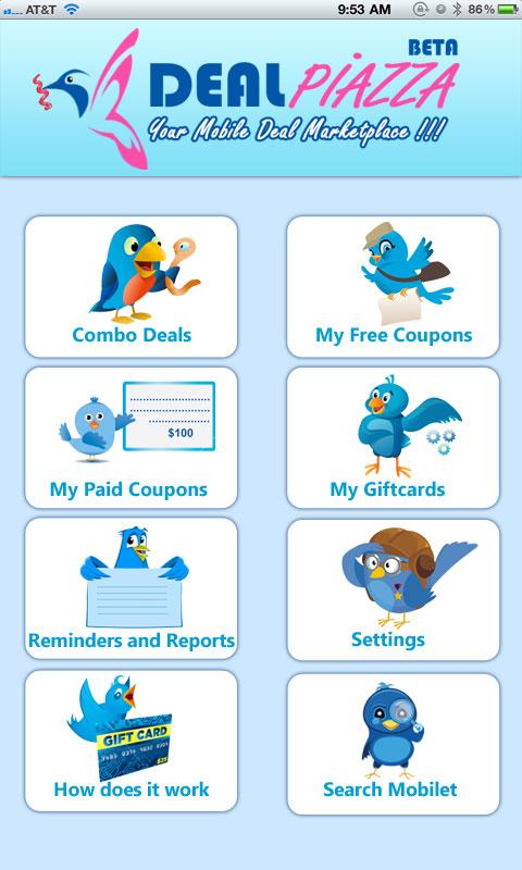 DealPiazza - Coupons giftcards- screenshot