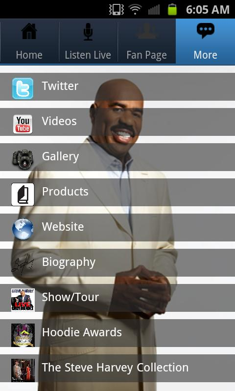 Steve Harvey - screenshot