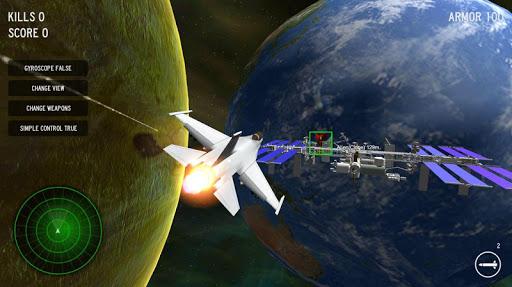 F16 Fighter 3D Space War