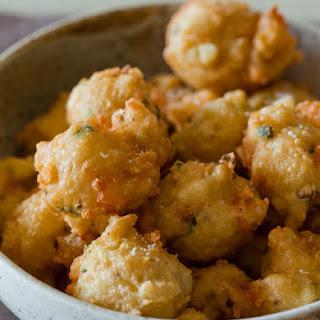 Shrimp Fritters.