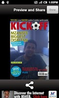 Screenshot of Kick Off Cover Star