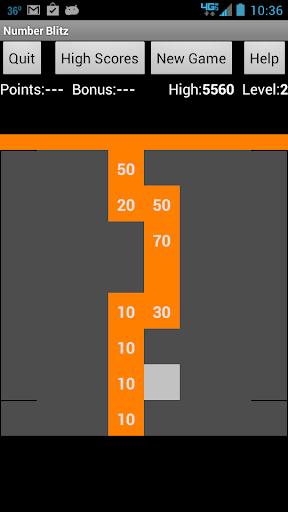 【免費休閒App】Number Blitz-APP點子
