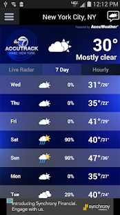 AccuTrack WABC NY AccuWeather- screenshot thumbnail
