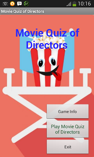 Movie Quiz of Directors