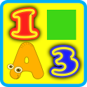 ABC Numbers Colors for Kids icon