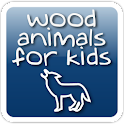 Wood Animals for Kids logo