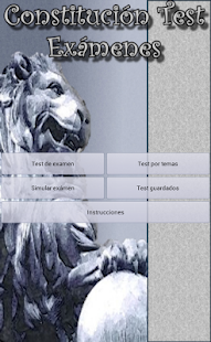 Constitucion Test Examenes - screenshot thumbnail