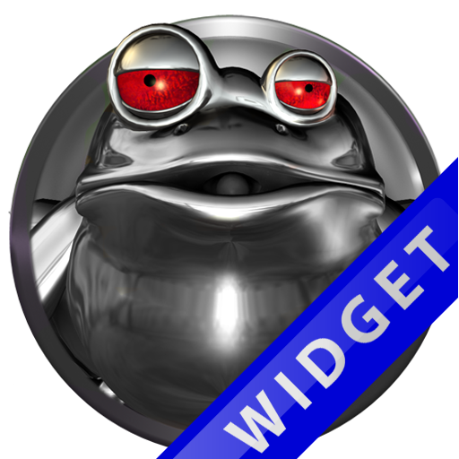 Poweramp Widget Red Frog