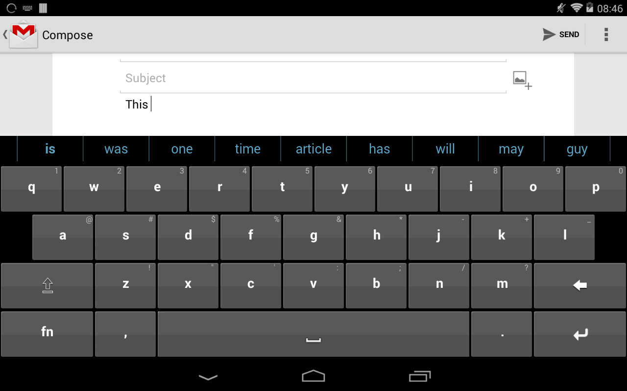 Texthelp Keyboard (Beta) - screenshot
