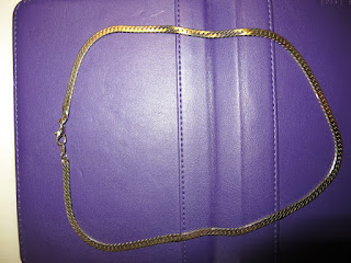 19 inch 14k Italian yellow gold necklace