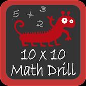 10×10 Math Drill