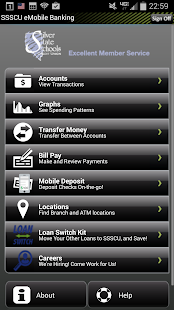 SSSCU Mobile Banking- screenshot thumbnail