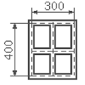 Calculator of strip foundation