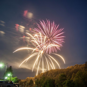 Fireworks in Thomas WV by Chris Reynolds - Public Holidays July 4th ( george washington, holiday, family, independence, july 4th,  )