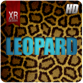 Leopard Time GO Launcher theme