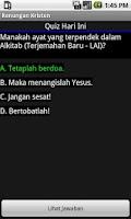 Screenshot of Renungan Kristen