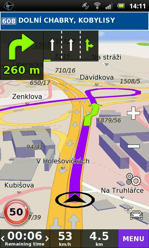 RUSSIA GPS Navigation - screenshot