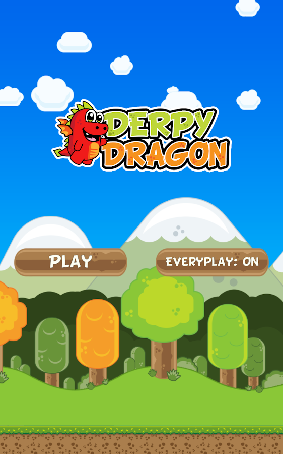 Derpy Dragon - screenshot