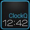 ClockQ - Digital Clock Widget